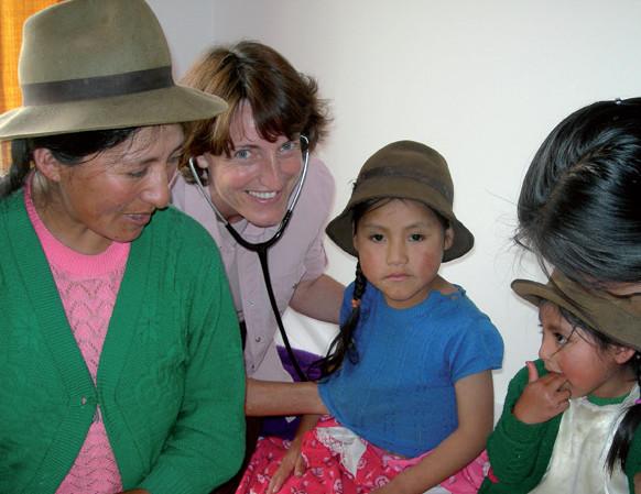 Glaube versetzt Berge - Wie ein Krankenhaus in den Anden entstand